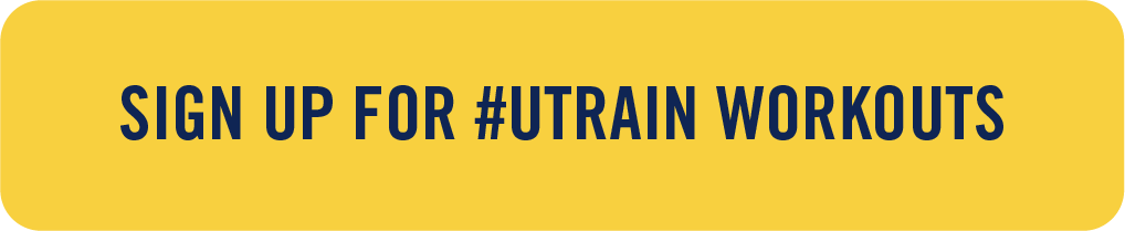button with text: sign up for #utrain workouts