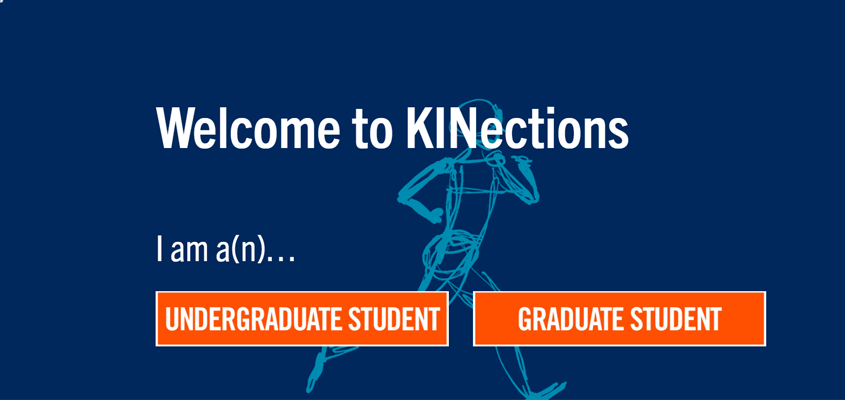 screenshot of kinections.utoronto.ca homepage